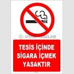 ZY1299 - Tesis içinde sigara içmek yasaktır