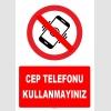 ZY1282 - Cep telefonu kullanmayınız