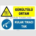 ZY1327 - Gürültülü Ortam, Kulak Tıkacı Tak