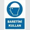 ZY1441 - ISO 7010 Baretini kullan
