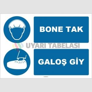 ZY1498 - Bone Tak, Galoş Giy