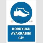 ZY1520 - Koruyucu ayakkabını giy