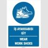 ZY1528 - Türkçe İngilizce, İş Ayakkabısı Giy, Wear Work Shoes