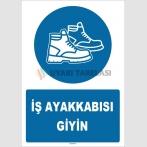 ZY1539 - İş ayakkabısı giyin