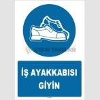 ZY1541 - İş ayakkabısı giyin
