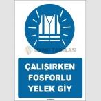 ZY1659 - Çalışırken Fosforlu Yelek Giy