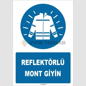 ZY1675 - Reflektörlü Mont Giyin