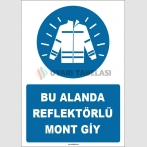ZY1680 - Bu Alanda Reflektörlü Mont Giy