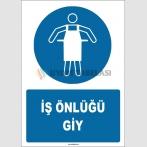 ZY1704 - ISO 7010 İş Önlüğü Giy
