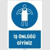 ZY1717 - ISO 7010 İş Önlüğü Giyiniz
