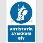 ZY1759 - ISO 7010 Antistatik Ayakkabı Giy