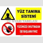 ZY1769 - Yüz Tanıma Sistemi, Yüzünüzü Okutmadan İşe Başlamayınız