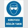 ZY1773 - Koruyucu Gözlük Takın