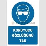 ZY1777 - Koruyucu Gözlüğünü Tak