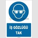 ZY1778 - ISO 7010 İş Gözlüğü Tak