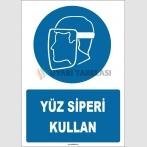 ZY1785 - Yüz siperi kullan