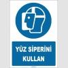 ZY1787 - ISO 7010 Yüz siperini kullan