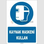 ZY1789 - ISO 7010 Kaynak Maskeni Kullan