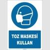 ZY1811 - ISO 7010 Toz Maskesi Kullan