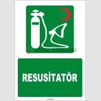 ZY1823 - ISO 7010 Resusitatör