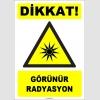 ZY1859 - ISO 7010 Dikkat Görünür Radyasyon