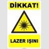 ZY1864 - ISO 7010 Dikkat Lazer Işını