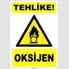 ZY1920 - ISO 7010 Tehlike! Oksijen