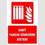 ZY1963 - ISO 7010 Sabit Yangın Söndürme Sistemi