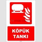 ZY1975 - ISO 7010 Köpük Tankı