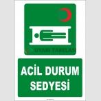 ZY2014 - ISO 7010 Acil Durum Sedyesi