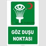 ZY2030 - ISO 7010 Göz Duşu Noktası