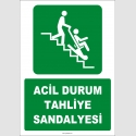 ZY2073 - ISO 7010 Acil Durum Tahliye Sandalyesi