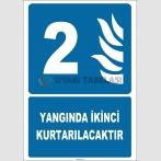 ZY2122 - Yangında İkinci Kurtarılacaktır