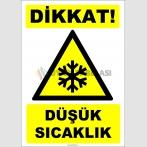 ZY2104 - Dikkat! Düşük Sıcaklık