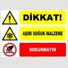 ZY2137 - Dikkat! Aşırı Soğuk Malzeme, Dokunmayın