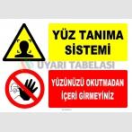 ZY2145 - Yüz Tanıma Sistemi, Yüzünüzü Okutmadan İçeri Girmeyiniz