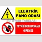 ZY2218 - Elektrik Pano Odası, Yetkiliden Başkası Giremez
