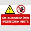 ZY2245 - Elektrik Panosunun Önüne Malzeme Koymak Yasaktır
