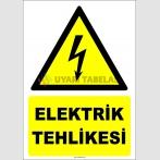 ZY2280 - ISO 7010 Elektrik Tehlikesi