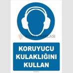 ZY2319 - ISO 7010 Koruyucu Kulaklığını Kullan