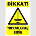 ZY2351 - Dikkat! Topraklanmış Zemin