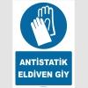 ZY2390 - ISO 7010 Antistatik Eldiven Giy
