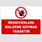 ZY2454  - Merdivenlere Malzeme Koymak Yasaktır