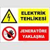ZY2495 - Elektrik Tehlikesi, Jeneratöre Yaklaşma
