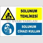 ZY2782 - Solunum Tehlikesi, Solunum Cihazı Kullan