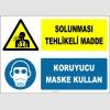 ZY2776 - Solunması Tehlikeli Madde, Koruyucu Maske Kullan