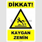 ZY2788 - Dikkat! Kaygan Zemin