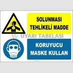 ZY2820 - Solunması Tehlikeli Madde, Koruyucu Maske Kullan