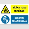 ZY2831 - Silika Tozu Tehlikesi, Solunum Cihazı Kullan