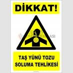 ZY2871 - Dikkat! Taş Yünü Tozu Soluma Tehlikesi